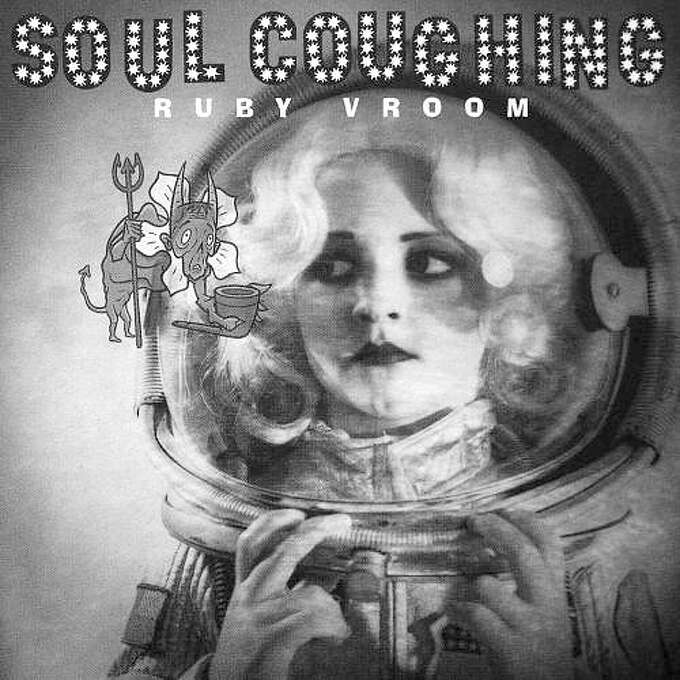 """Soul Coughing – """"Ruby Vroom:"""" You probably know them for """"Circles"""" or the intro to """"Super Bon Bon,"""" but the band earned acclaim first with this debut release on Slash/Warner Brothers Records. It included """"Screenwriter's Blues,"""" """"Janine"""" and started with """"Is Chicago, Is Not Chicago."""" (Album cover)"""