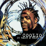 "Coolio - ""It Takes a Thief:"" The rapper's debut album included ""Fantastic Voyage,"" which was a video favorite on MTV. ""Who this?"" (Album cover)"