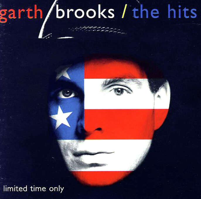 "Garth Brooks – ""The Hits:"" OK, this was a compilation. But remember: it was 1994 and CD burners weren't common for another five years at least. This debuted at No. 1 on the Billboard 200 Albums chart, probably in part because people didn't want to hassle their old mixed cassette tape. (Album cover)"