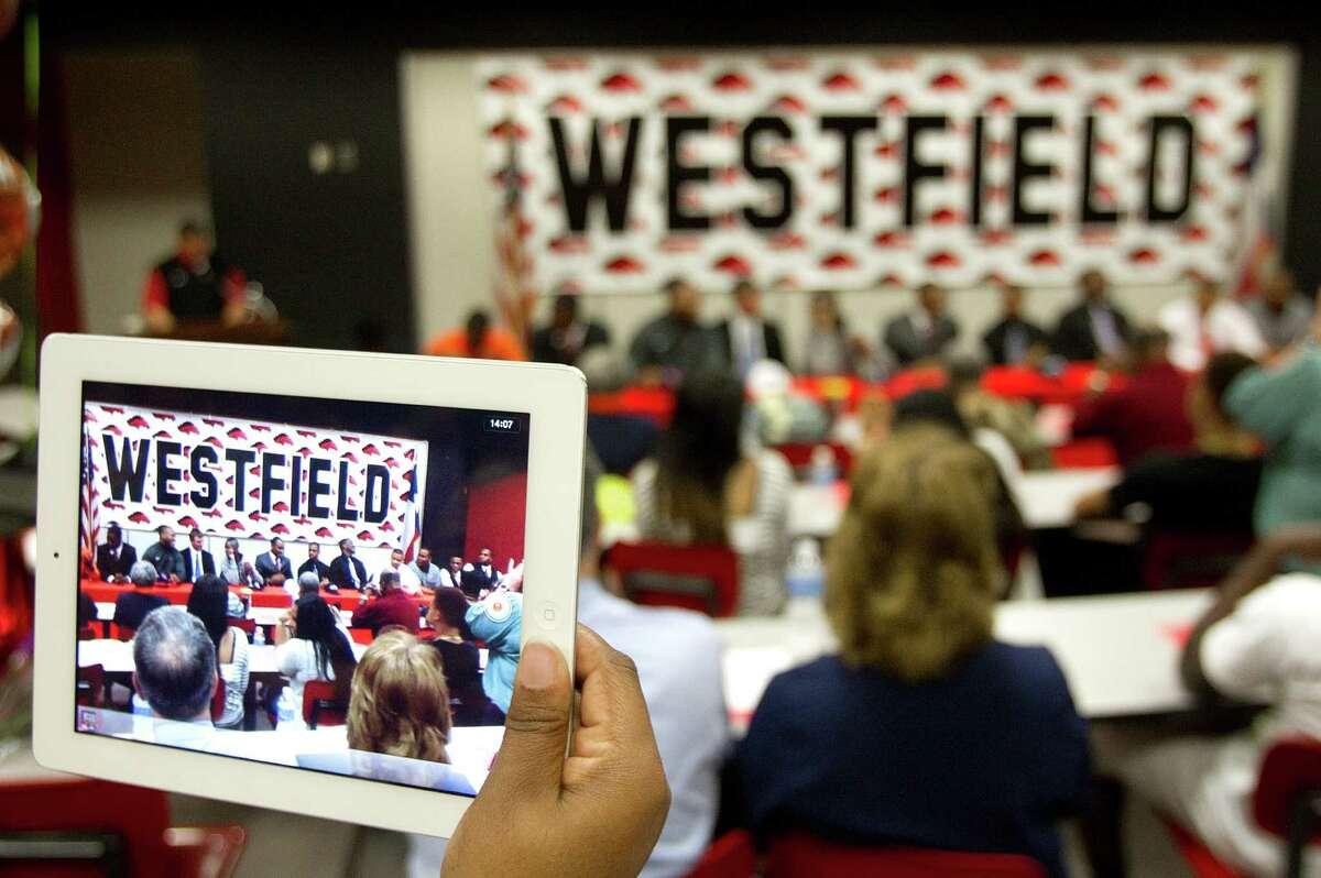 School: Westfield High SchoolCollege readiness: 2.8Source: U.S. News & World Report