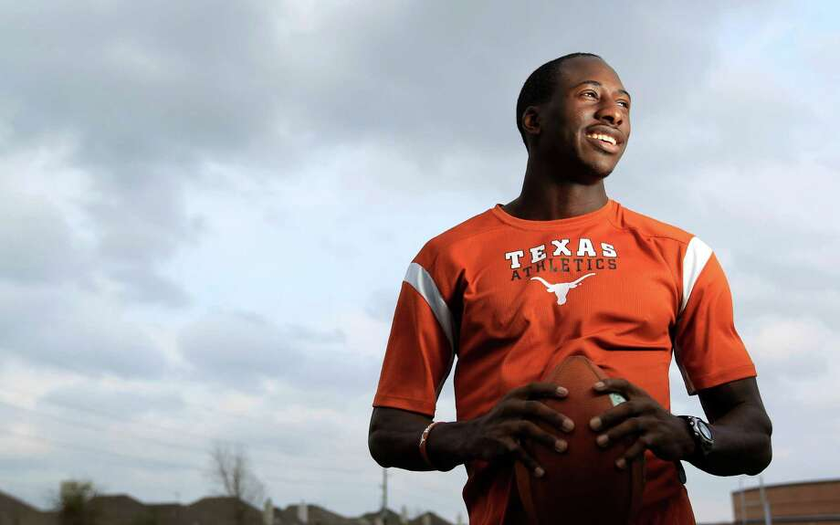 Cypress Falls' Jacorey Warrick is among a relatively deep class of wide receivers who kept their commitments to play for the Longhorns in 2013. Photo: Karen Warren, Staff / © 2013 Houston Chronicle