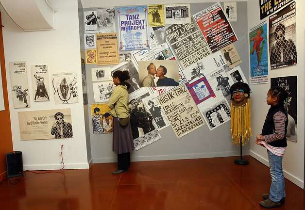 This is a gallery at the African American Art & Cultural Center featuring Rhodessa Jones and Cultural Odyssey, artists who've created original works, in San Francisco, Ca., on Monday, February 15, 2010.  She is currently doing three shows here to celebrate Cultural Odyssey which is having it's 30th anniversary. Photo: Liz Hafalia, The Chronicle