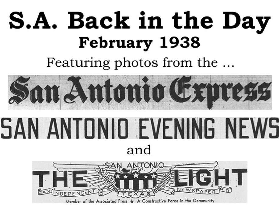 We've combed through the San Antonio Express, San Antonio News and San Antonio Light archives to bring you the best photos from the Alamo City 75 years ago, for the most part using the original photo captions, with exceptions to provide more information. Enjoy! Compiled by Merrisa Brown, mySA.com. Photo: San Antonio Express-News Photo Illustration