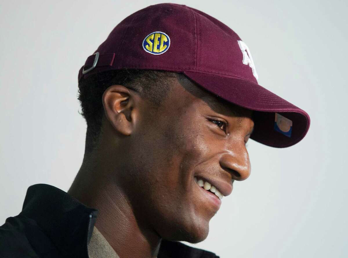 Ricky Seals-Jones found Kevin Sumlin's offense to be too inviting to pass up.