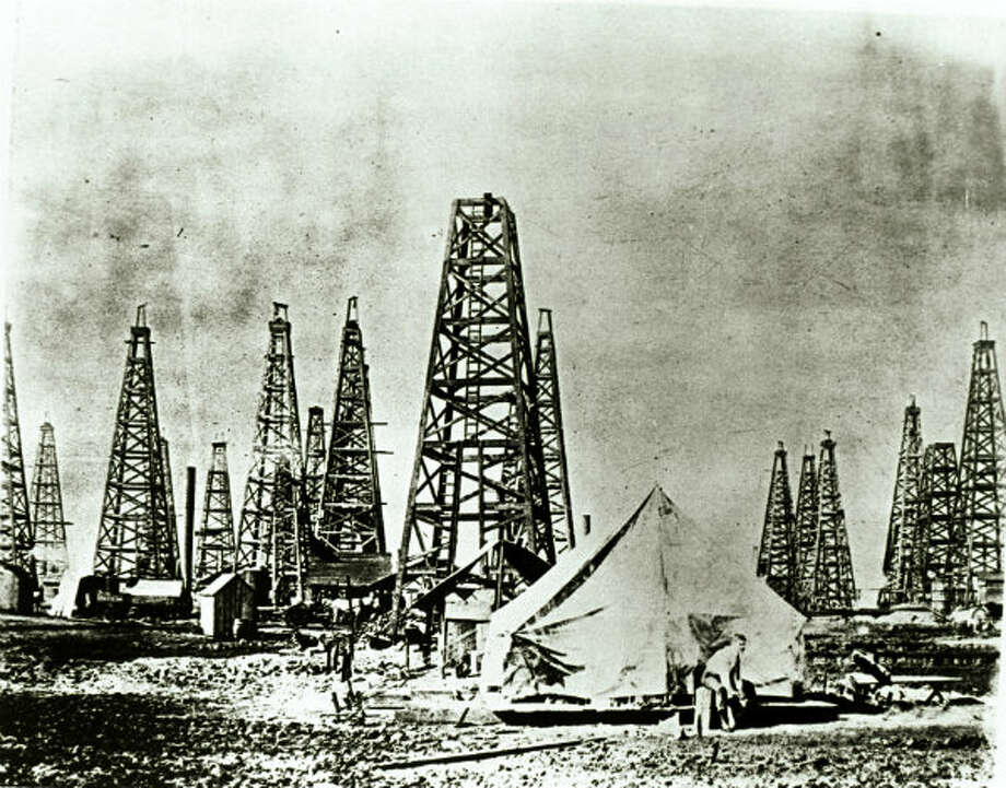 A campsite at Spindletop.
