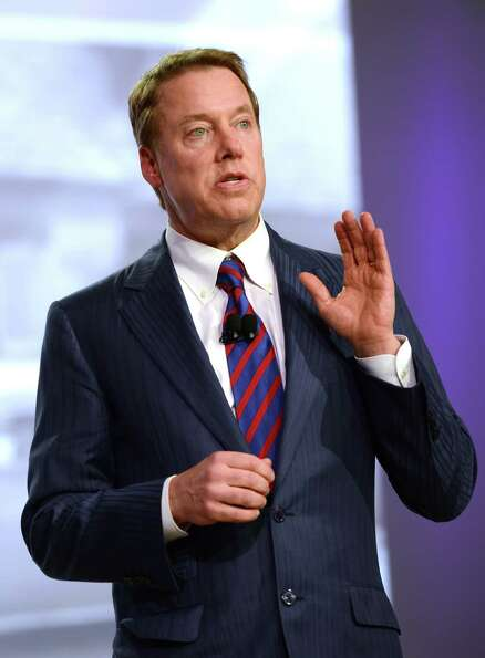 Ford Executive Chairman William Clay Ford, Jr. may look gentle and peaceful in p