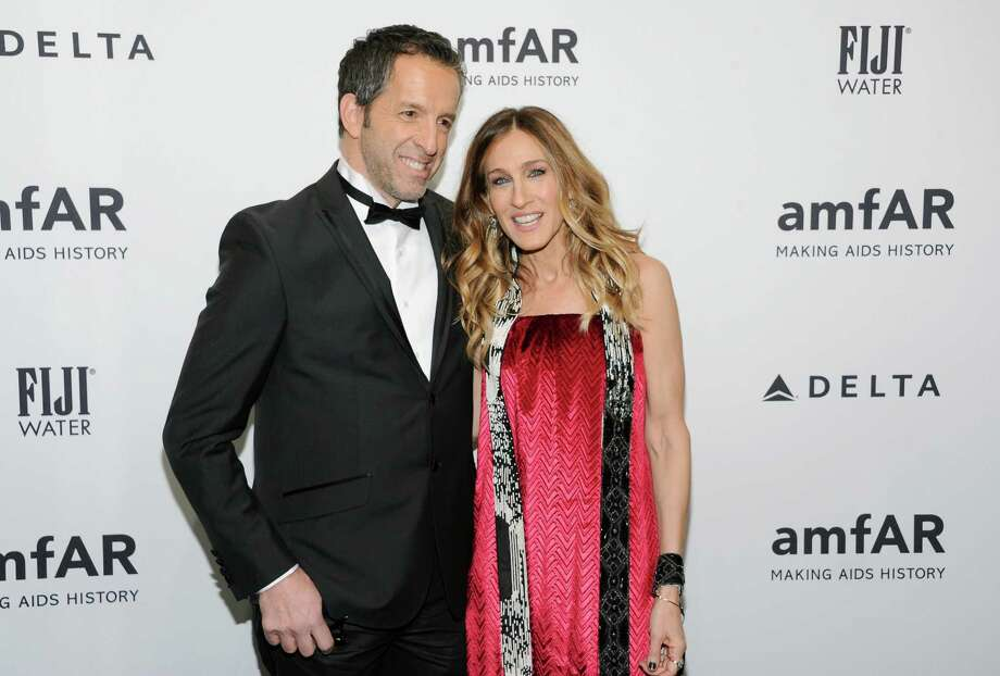 Designer Kenneth Cole and actress Sarah Jessica Parker attend amfAR's New York gala at Cipriani Wall Street on Wednesday, Feb. 6, 2013 in New York. Photo: Evan Agostini, Evan Agostini/Invision/AP / Invision
