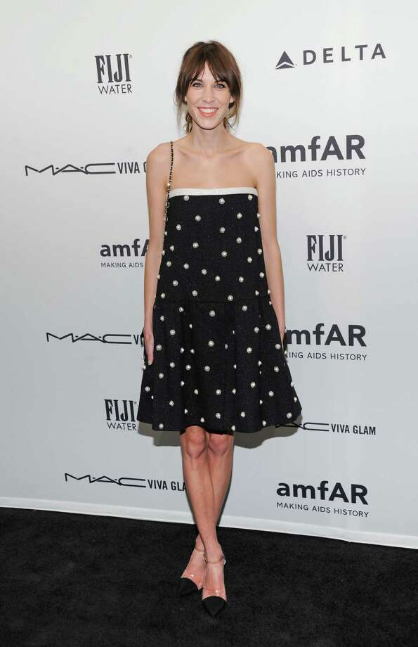 Model Alexa Chung attends amfAR's New York gala at Cipriani Wall Street on Wednesday, Feb. 6, 2013 in New York. Photo: Evan Agostini, Evan Agostini/Invision/AP / Invision