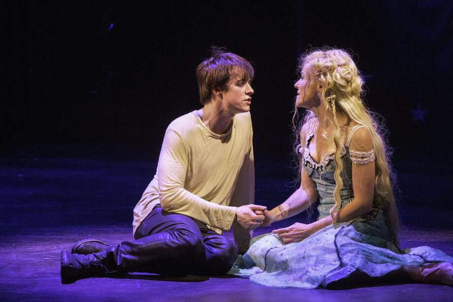 "Matthew James Thomas as Pippin and Rachel Bay Jones as Catherine will reprise their ""Pippin"" roles on Broadway. Photo: American Repertory Theater / Associated Press"