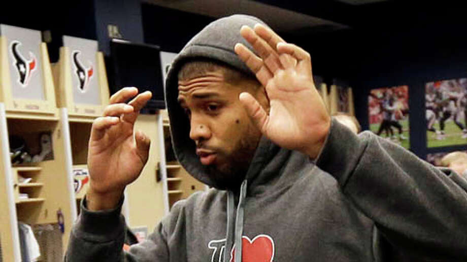 Please think for yourself. Don't believe a man with a suit can save your life. You're more powerful than any government or ideal.— Arian Foster (@ArianFoster) October 17, 2012 Photo: David J. Phillip, . / AP
