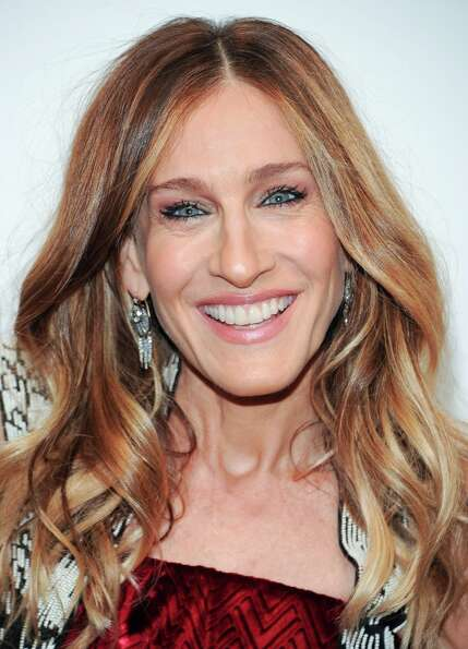 Actress Sarah Jessica Parker attends amfAR's New York gala at Cipriani Wall Street on Wednesday, Feb