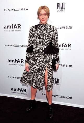 Chloe Sevigny attends the amfAR New York Gala to kick off Fall 2013 Fashion Week at Cipriani Wall Street on February 6, 2013 in New York City.  (Photo by Stephen Lovekin/Getty Images for Mercedes-Benz Fashion Week) Photo: Stephen Lovekin, (Credit Too Long, See Caption) / 2013 Getty Images