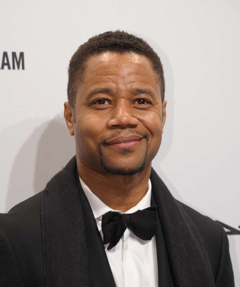 Actor Cuba Gooding, Jr.arrives at the amfAR (The Foundation for AIDS Research) gala that kicks off the Mercedes-Benz Fashion Week February 6, 2013 in New York. Photo: STAN HONDA, AFP/Getty Images / AFP