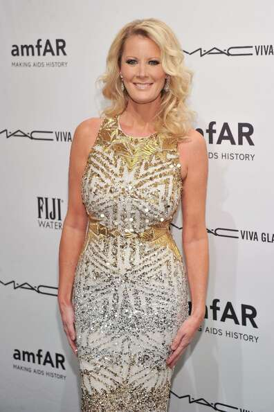 TV personality Sandra Lee attends the amfAR New York Gala to kick off Fall 2013 Fashion Week at Cipr