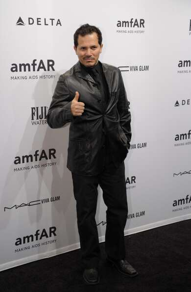 John Leguizamo arrives at the amfAR (The Foundation for AIDS Research) gala that kicks off the Merce