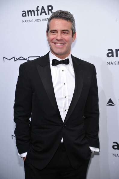 Andy Cohen attends the amfAR New York Gala to kick off Fall 2013 Fashion Week at Cipriani Wall Stree