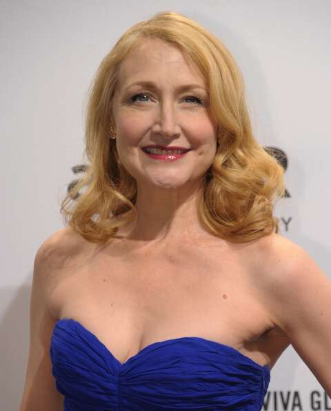 Actress Patricia Clarkson at the amfAR (The Foundation for AIDS Research) gala that kicks off the Me