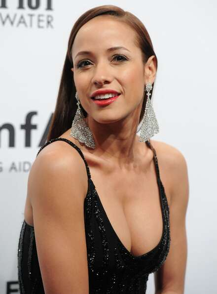 Actress Dania Ramirez attends amfAR's New York gala at Cipriani Wall Street on Wednesday, Feb. 6, 20