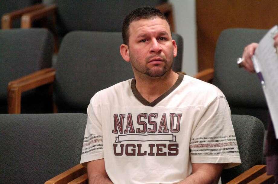 Lisandro Orias is arraigned in Norwalk, Conn. on Monday December 28,2009 for attempted murder. Photo: Dru Nadler / Stamford Advocate