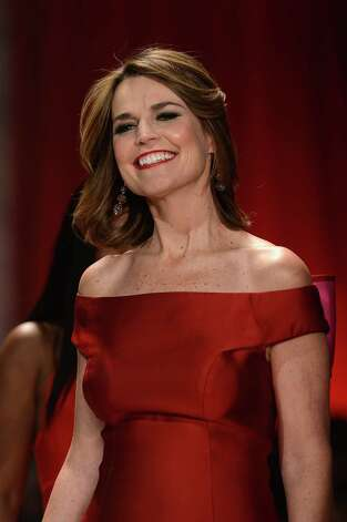 Broadcaster Savannah Guthrie walks the runway at The Heart Truth 2013 Fashion Show. Photo: Frazer Harrison, Getty / 2013 Getty Images