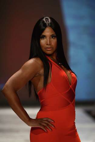 Toni Braxton walks the runway at The Heart Truth 2013 Fashion Show. Photo: Frazer Harrison, Getty / 2013 Getty Images