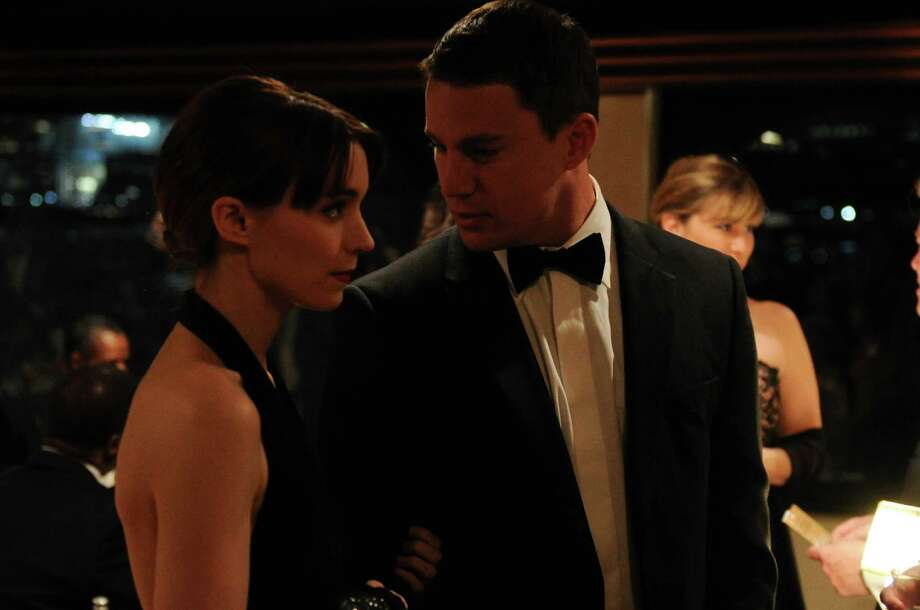 Rooney Mara and Channing Tatum star in Side Effects. Photo: Barry Wetcher, Handout / ONLINE_YES