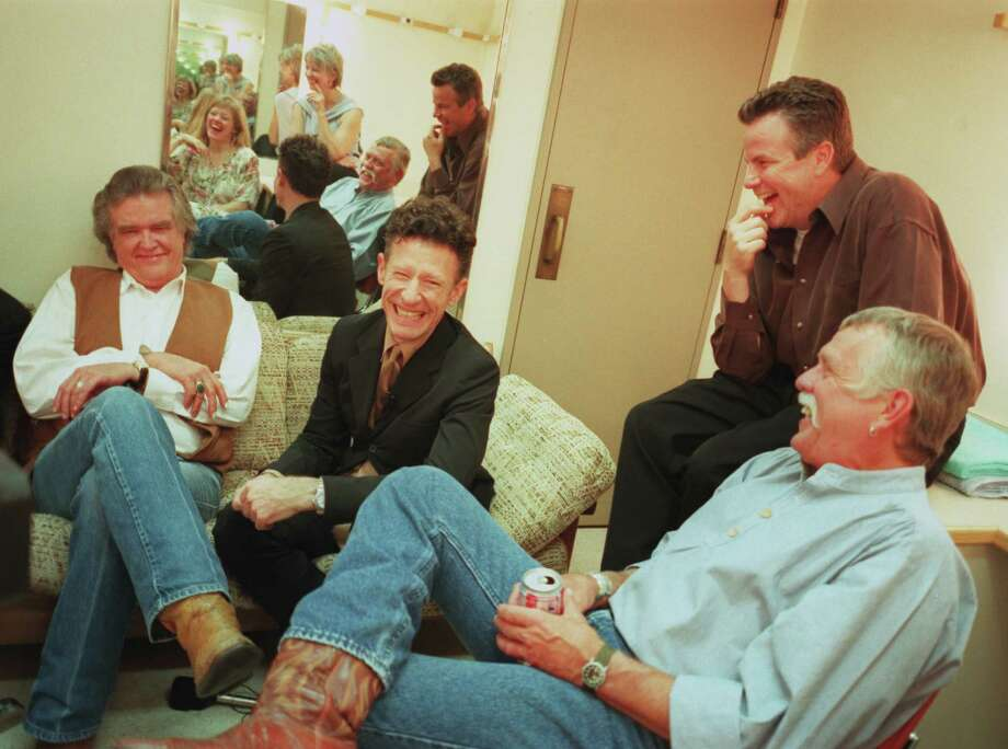 May 24:Lyle Lovett and Robert Earl Keen, Majestic Theatre Photo: Smiley N. Pool, Staff / Houston Chronicle
