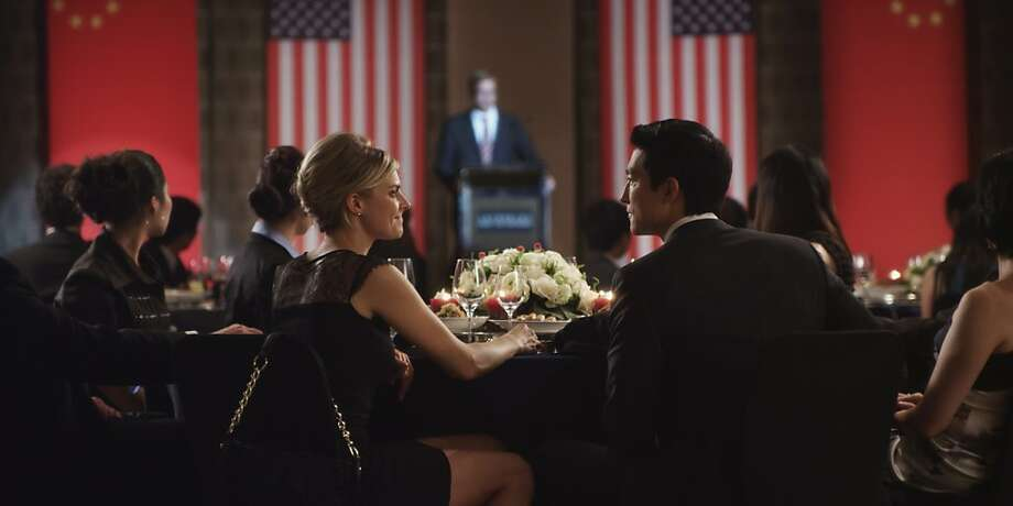 "Eliza Coupe and Daniel Henney star in ""Shanghai Calling"" as U.S. expats in China for business. Photo: Americatown"