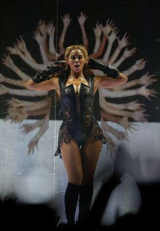 Beyonce performs during halftime at Superbowl XLVII between the San Francisco 49ers and the Baltimore Ravens at the Mercedes-Benz Superdome on Sunday February 3, 2013 in New Orleans, La.