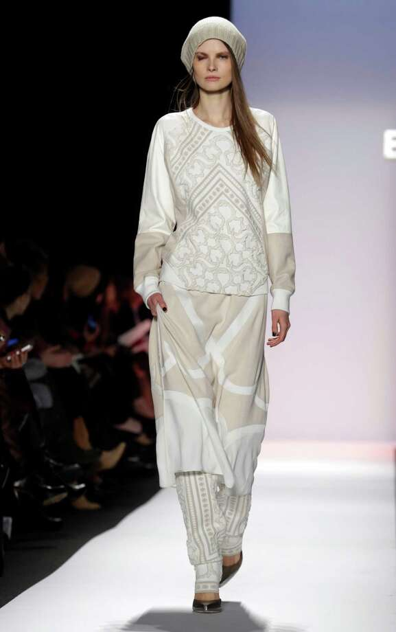 BCBG Max Azria shows Parisian flair for fall. Photo: Richard Drew, STF / AP