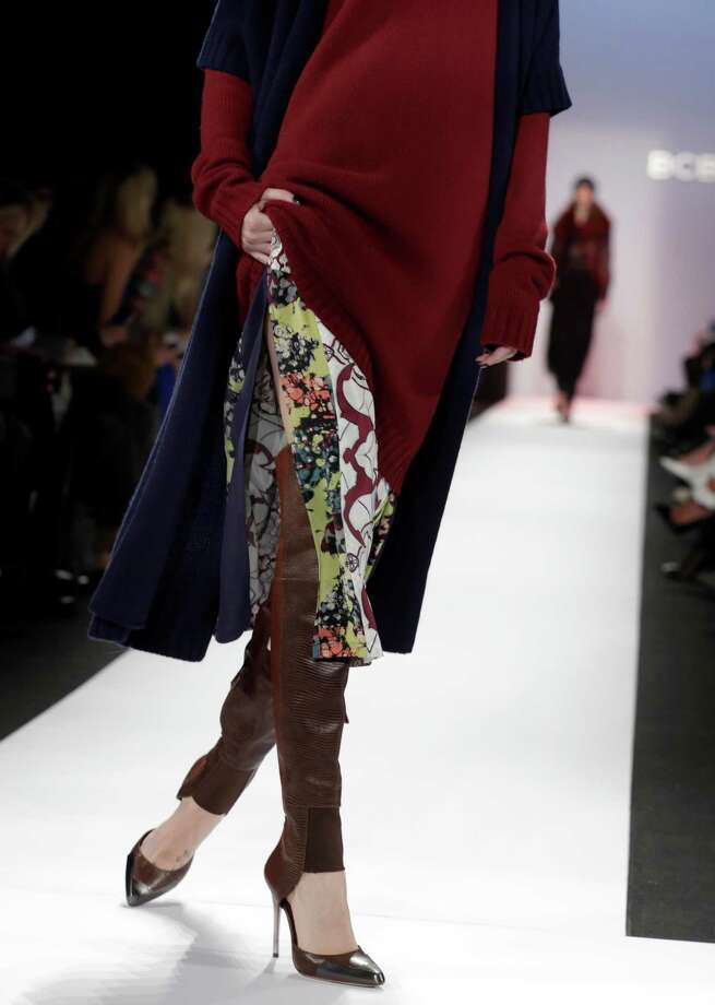 The combination pump/boot made a splash on the BCBG Max Azria fall runway. Photo: Richard Drew, STF / AP