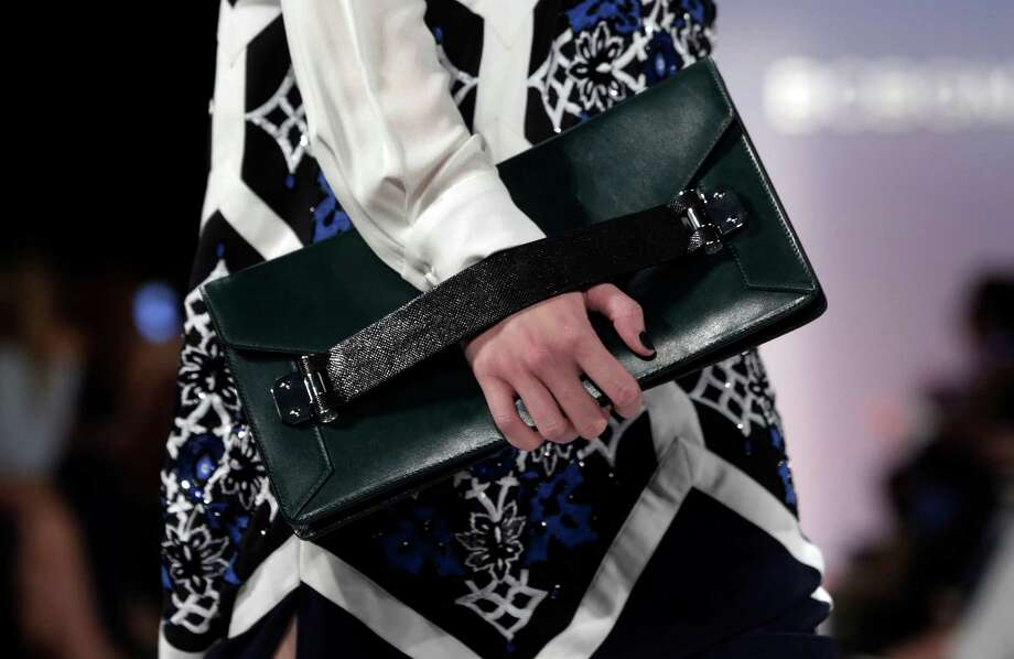 A new take on the clutch at BCBG Max Azria. Photo: Richard Drew, STF / AP