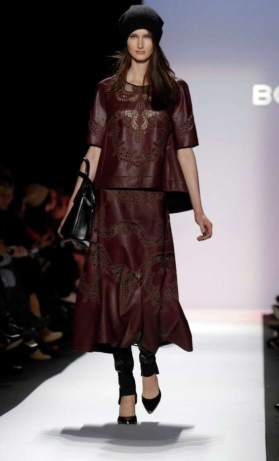 The BCBG Max Azria Fall 2013 collection Photo: Richard Drew, STF / AP