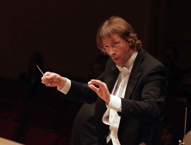 Stamford Symphony Orchestra conductor and music director Eckart Preu will lead the orchestra Saturday, Feb. 16, at 8 p.m., and Sunday, Feb. 17, at 3 p.m., 2013, at the Palace Theatre in Stamford, Conn., in a program of music from Stravinsky, Mendelssohn, Part and Mozart. Soloist George Li, an award-winning pianist will join the symphony. For more information, visit http://www.scalive.org. Photo: Contributed Photo