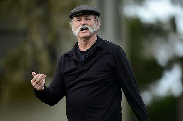 PEBBLE BEACH, CA - FEBRUARY 07:  Bill Murray is seen during the first round of the AT&T Pebble Beach National Pro-Am at the Monterey Peninsula Country Club on February 7, 2013 in Pebble Beach, California.  (Photo by Harry How/Getty Images) Photo: Harry How, Getty Images