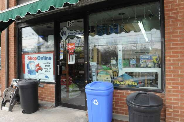 Cos Cob Hardware ready for potential snow storm in Cos Cob, in Conn., Thursday, Feb. 7, 2013. Photo: Helen Neafsey / Greenwich Time