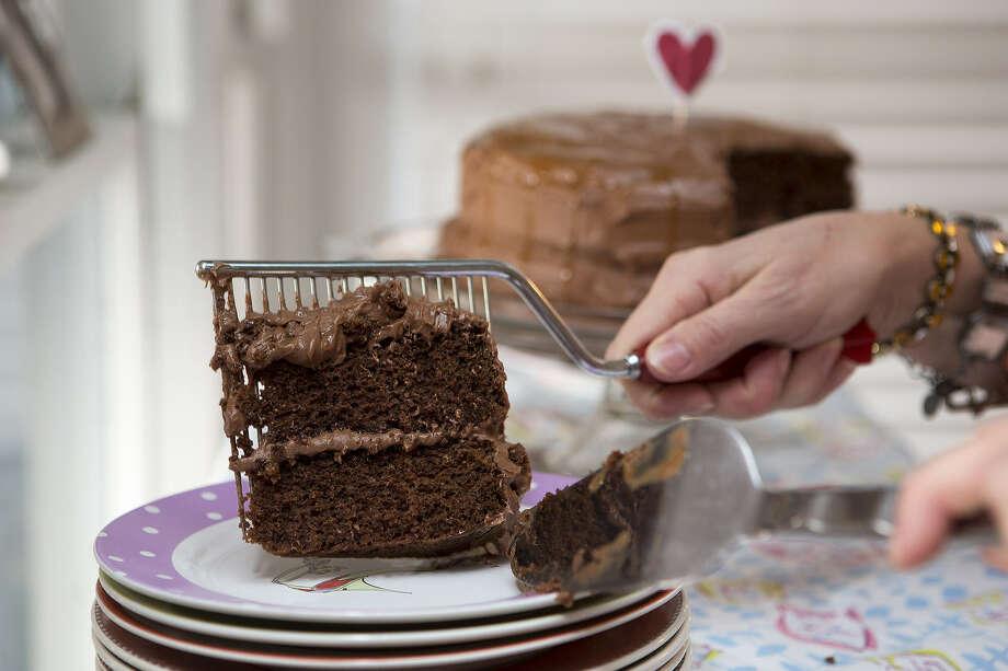 Recipe chocolate orange cake with salted caramel san antonio food channel forumfinder Gallery