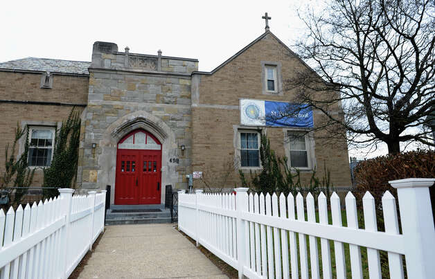 A view of St. Perter's Catholic School on Beechwood Avenue in Bridgeport, Conn. on Thursday February 7, 2013. Photo: Christian Abraham / Connecticut Post