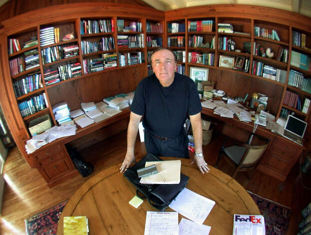"Best-selling author James Patterson's latest thriller is ""Private Berlin,"" co-written with Mark Sullivan. Photo: Courtesy Photos"