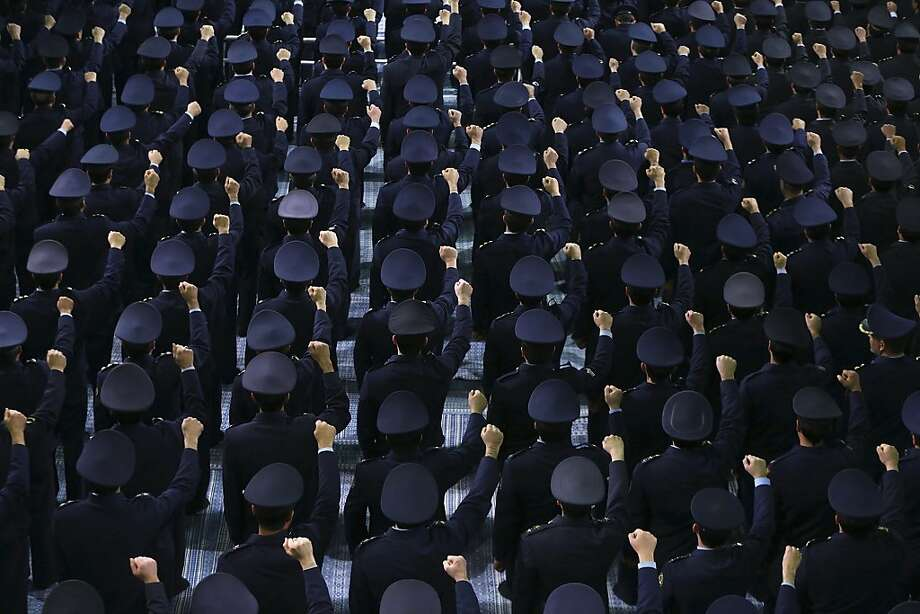 In this photo released by an official website of the Iranian supreme leader's office, Iranian army air force members chant slogans, during their meeting with supreme leader Ayatollah Ali Khamenei, unseen, in Tehran, Iran, Thursday, Feb. 7, 2013. Iran's supreme leader Thursday strongly rejected proposals for direct talks with the United States, effectively quashing suggestions for a breakthrough one-on-one dialogue on the nuclear standoff and potentially other issues.  Photo: Associated Press