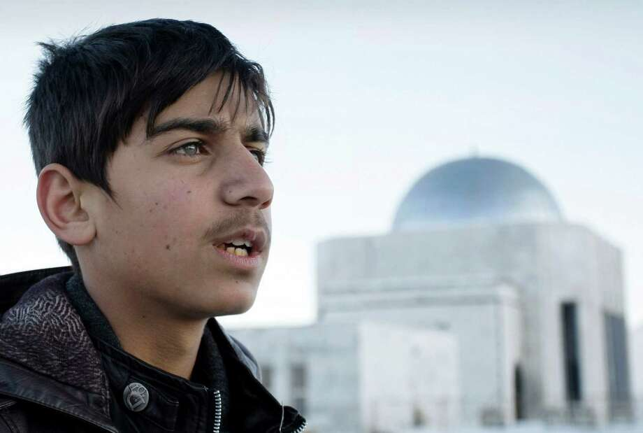 Fawad Mohammadi, 14, who hopes to be a pilot, will take his first flight to visit Los Angeles. Photo: Musadeq Sadeq, STF / AP