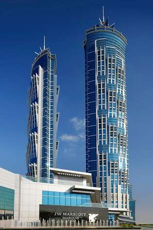 Dubai: The 72-story JW Marriott Marquis Photo: Marriott Hotels