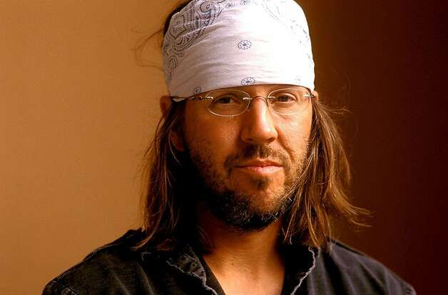 "David Foster Wallace author of  hotly anticipated book, ""The Pale King."" The book was published posthumously by Wallace's editor. Photo: Giovanni Giovannetti"