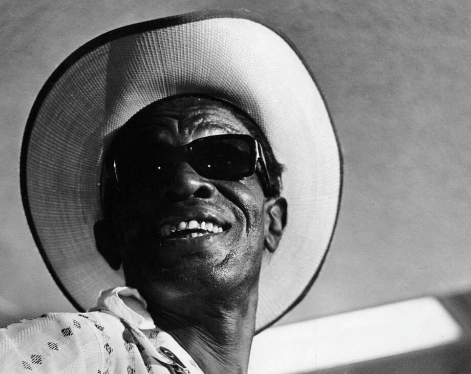 "Though born in Centerville, Sam ""Lightnin' "" Hopkins lived in Houston for years. Photo: Richard Pipes, HC Staff / Houston Chronicle"
