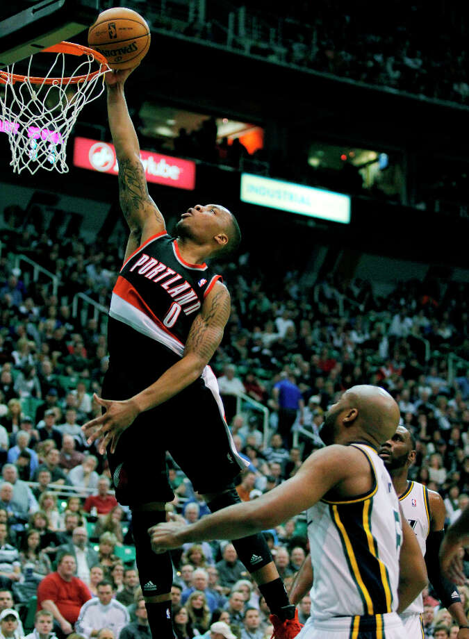Team Shaq 1st pickDamian Lillard is a rookie point guard who played collegiality at Weber State University. He was the 6th overall pick in the 2012 draft. Photo: Steve C. Wilson, Associated Press / FR33188 AP