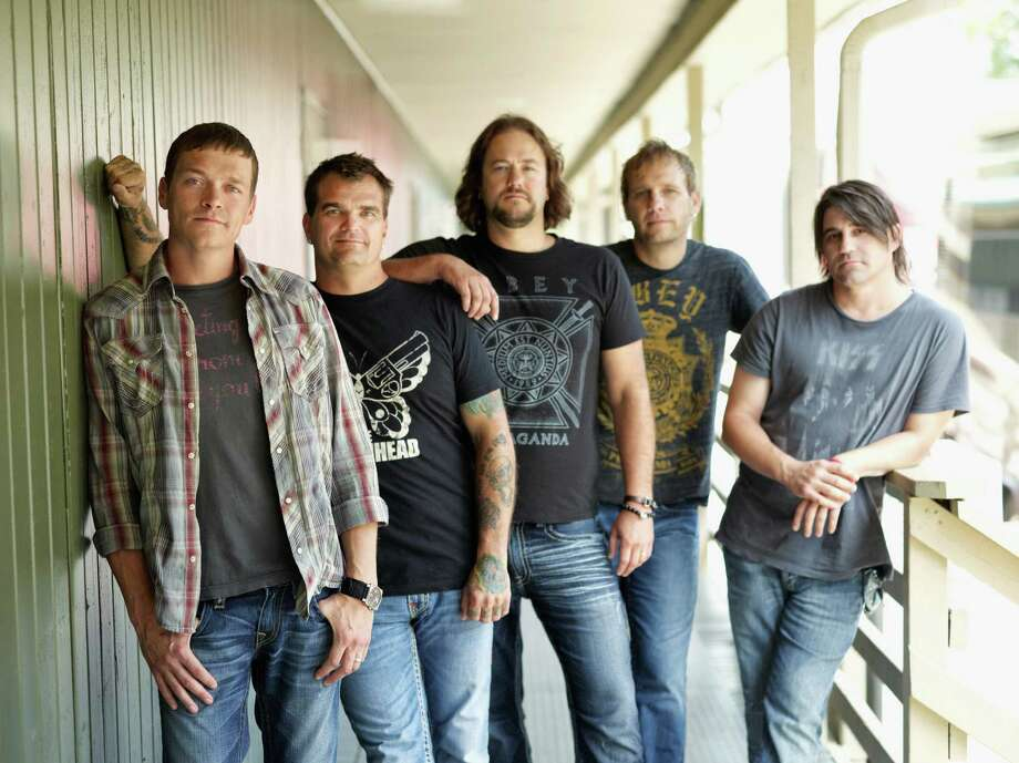 The co-headlining tour featuring 3 Doors Down, above, and Daughtry will stop at the Mohegan Sun Arena on Sunday night, Feb. 17. Photo: Contributed Photo / Connecticut Post Contributed