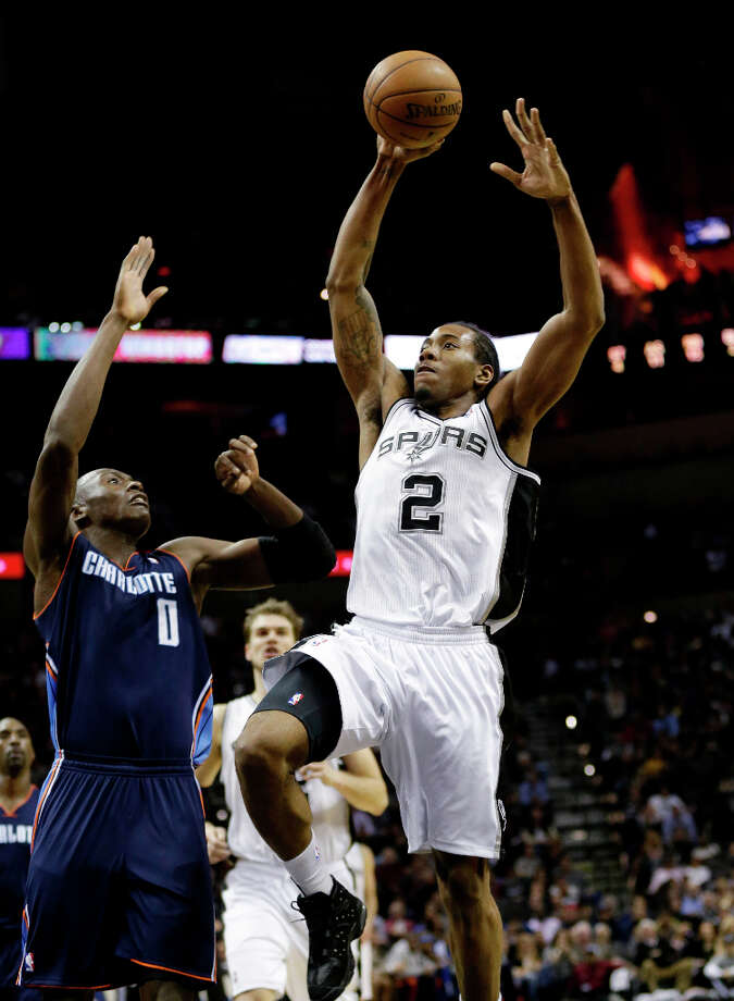 Team Chuck 3rd pickKawhi Leonard was the 15th overall pick in the 2011 draft. He played two seasons at San Diego State University. Photo: Eric Gay, Associated Press / AP