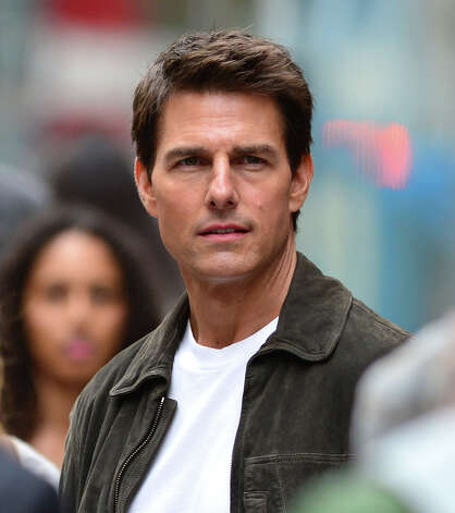Tom Cruise in 2012, filming in New York City for the upcoming movie ''Oblivion.'' Photo: James Devaney, WireImage / 2012 James Devaney