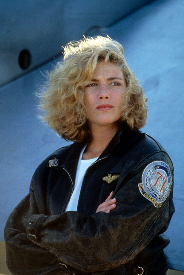 """The casting of Kelly McGillis as Tom Cruise''s love interest was all kinds of wrong. (She was too smart for him). But did anyone care? Not when Berlin''s song ''""""Take My Breath Away""""'' came on. Photo: Archive Photos, Getty Images / 2012 Getty Images"""