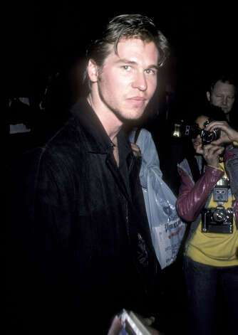 "Here's Val Kilmer at the ''Top Gun'' premiere on May 12, 1986. He went on to play Jim Morrison in ''""The Doors""'' in 1991 and Doc Holliday in 1993''s ''""Tombstone.""'' Photo: Ron Galella, Ltd., WireImage / 1986 Ron Galella, Ltd."